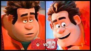 Wreck It Ralph '2012' vs Ralph Breaks The Internet '2018' Trailer (2018) Disney HD