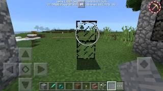 КАК ЗДЕЛАТЬ ЦВЕТНЫЕ СТЁКЛА 😮БЕЗ МОДОВ В Minecraft PE 1.0.0.7 😃