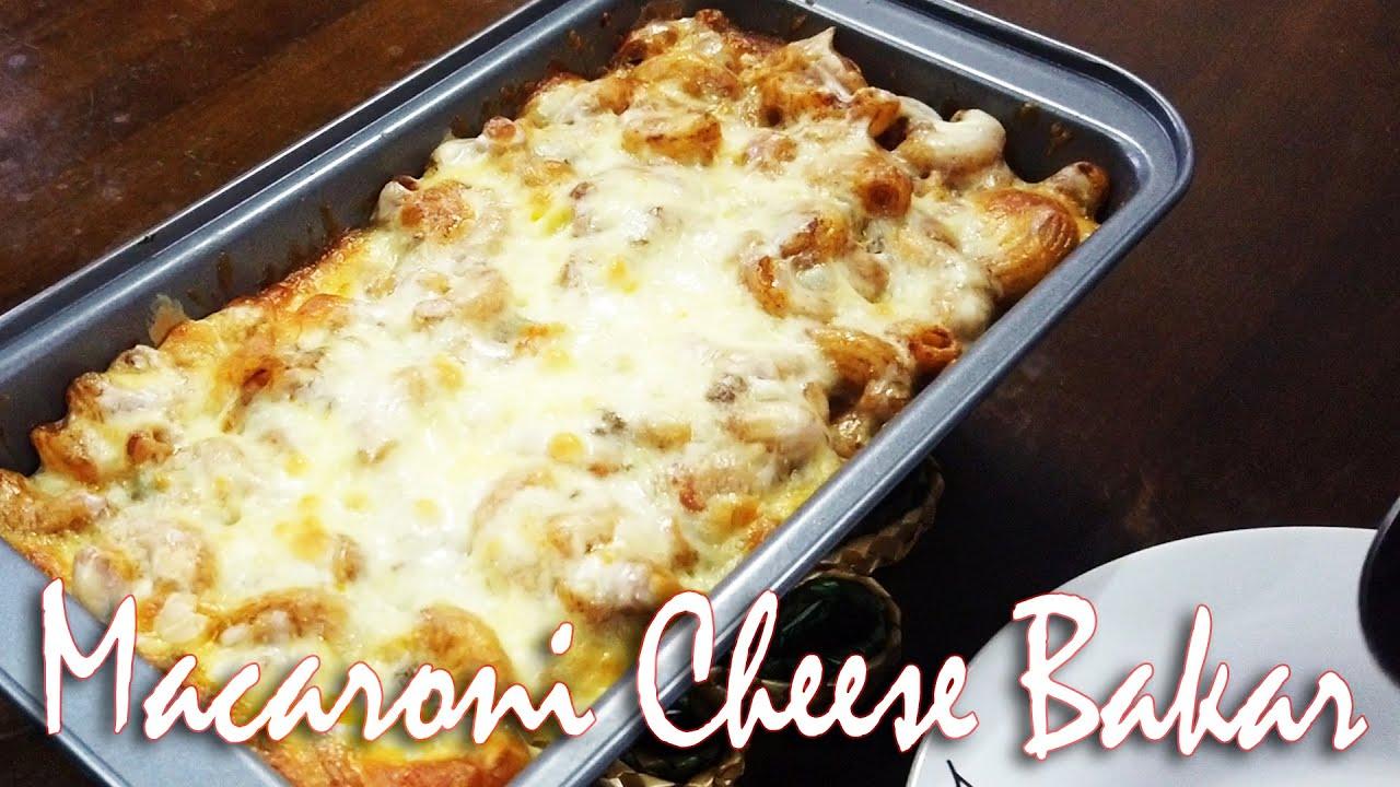 Macaroni Cheese Bakar Youtube