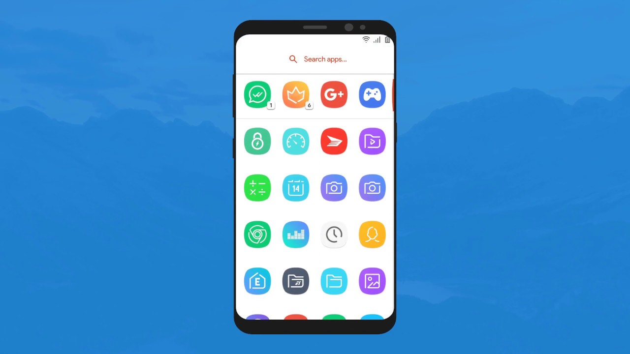 ELEGANCE UI - Icon Pack Official Preview
