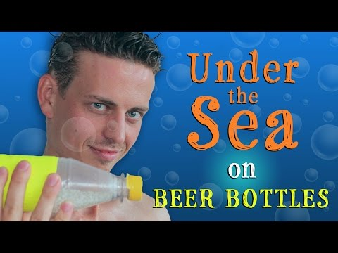 "These Guys Covered ""Under The Sea"" With Just Bottles And It's Delightful"