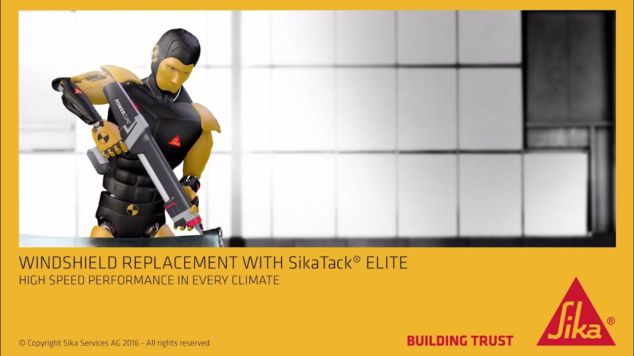 Windshield Replacement with SikaTack® ELITE - YouTube