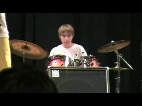 Deth Machine Jaren Hale, drummer