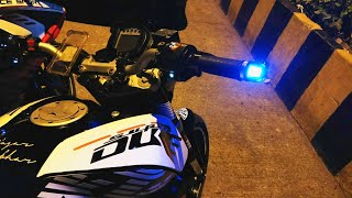 Download Video Bar end lights installation for all bikes and scooters |Ktm duke 200 MP3 3GP MP4
