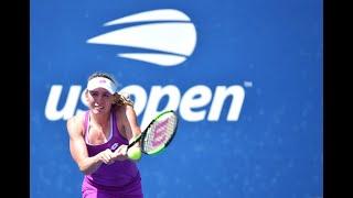 Ekaterina Alexandrova vs. Samantha Stosur | US Open 2019 R1 Highlights
