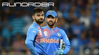 Runorder: Is Kohli's defence of Dhoni convincing enough?