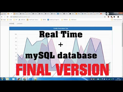 [SOURCE CODE] ChartJS - Real time Update Chart Data Dynamically from mySQL Database REV 1.1 (NEW)