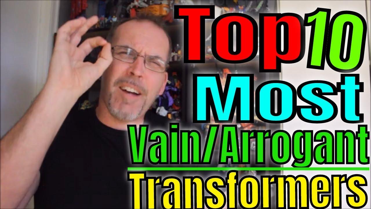 GotBot Counts Down: The Top 10 Most Vain/Arrogant Transformers Characters