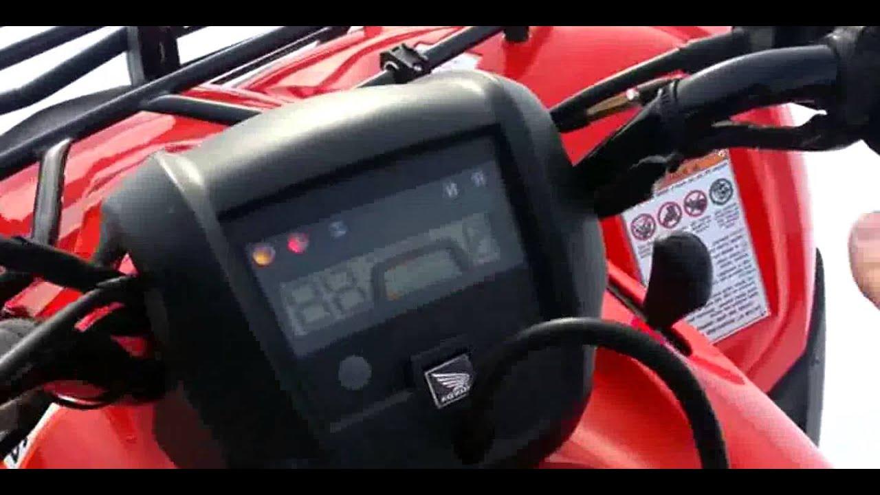 Superb 2012 Honda Rancher 420
