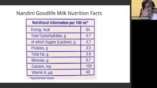 Talk: Reading labels on packaged milk supplments