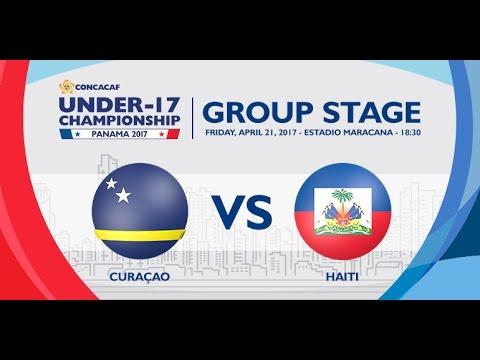CU17PAN: Curaçao vs Haiti