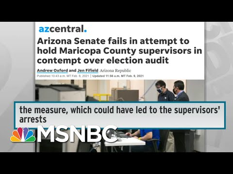 Republican Freakout Over 2020 Election Losses Sparks War On Voting In Several States   Rachel Maddow