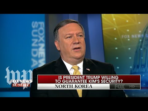 Ahead of North Korean summit, Pompeo says U.S. not trying to overthrow Kim