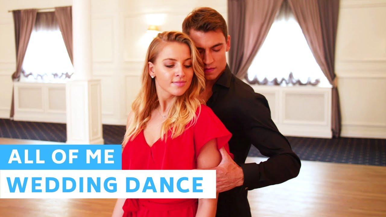 All Of Me John Legend Wedding Dance Choreography Youtube
