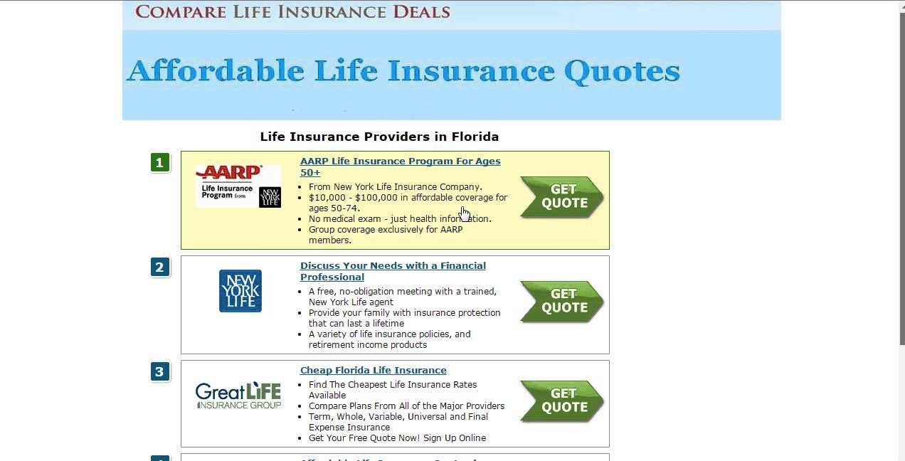 Term Life Insurance For Seniors Over 65 Compare Quote