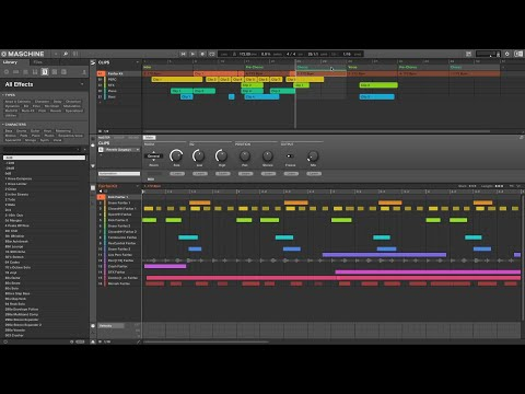 MASCHINE 2.12 - Introducing Clips | Native Instruments