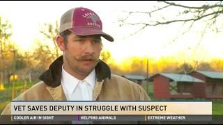 CHL-holding veteran saves deputy