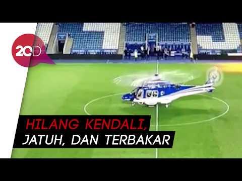 Mengerikan! Detik-detik Jatuhnya Helikopter Bos Leicester City Mp3