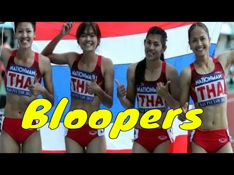 Asian Games Funny Bloopers All Time    Hilarious Funny Moments