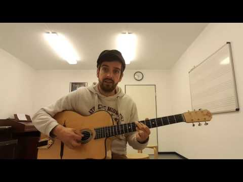 proper gypsy jazz chords to I'll see you in my dreams - YouTube