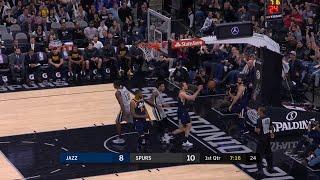 1st Quarter, One Box Video: San Antonio Spurs vs. Utah Jazz