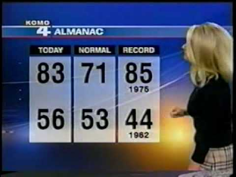 KOMO 4's Shannon O'Donnell weather 9/2009