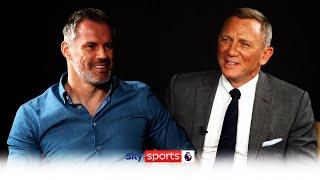 """Klopp would make a good Bond!"" | Jamie Carragher meets Daniel Craig to talk Liverpool & James Bond!"