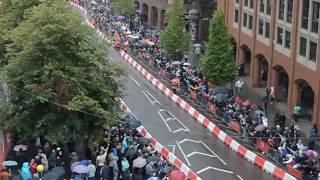 Vodafone Formula 1 in Manchester - سيارة فورمولا في شوارع مانشستر بريطانيا