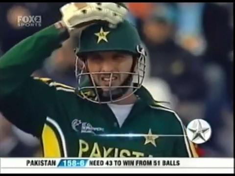 Shahid Afridi match winning cameo vs India 2004