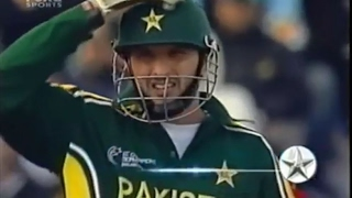 Shahid Afridi match winning cameo vs India 2004