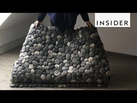 Felt Stone Rug - YouTube