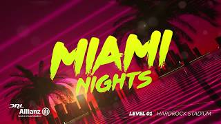 2017 Level One, Miami Nights Teaser | Drone Racing League