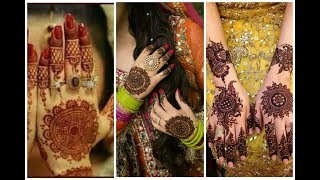 Top beautiful bridal simple mehndi designs   beauty fashion