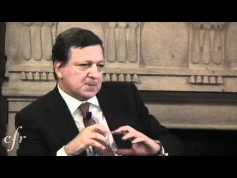 Barroso on European Sovereign Debt Concerns