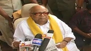 M Karunanidhi attacks BJP and Narendra Modi
