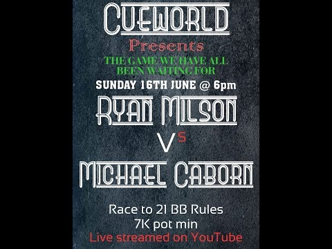 Ryan Milson VS Mike Caborn