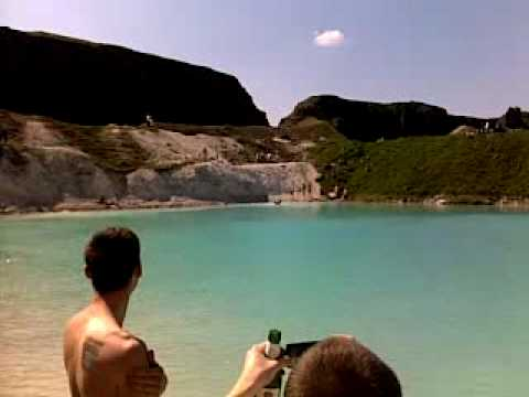 blue lagoon in England