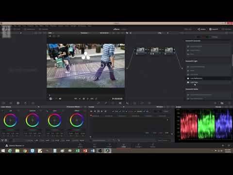 Davinci Resolve 15 | Video Effects For Music Video
