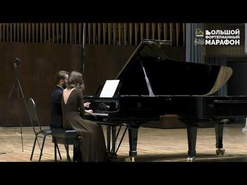 """Артем Шаплыко, Марина Шаплыко. Г.Свиридов. Сюита """"Время, вперёд!"""". для Фортепиано в 4 руки."""