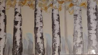 하얀자작나무숲 금색포인트 풍수인테리어 인테리어액자 카페…