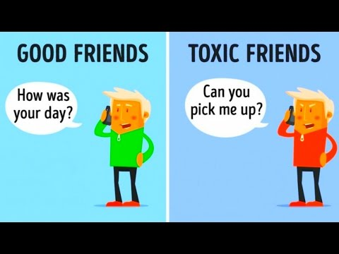 Thumbnail: 10 Differences Between Good Friends and Toxic Friends