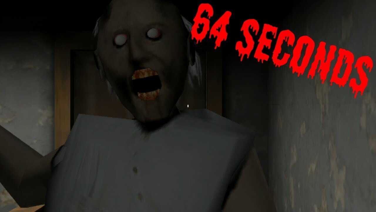 Granny Horror Game 64 Seconds Youtube