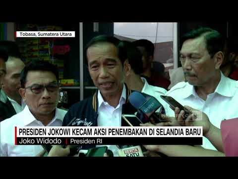 Presiden Jokowi Kecam Aksi Penembakan Di Selandia Baru