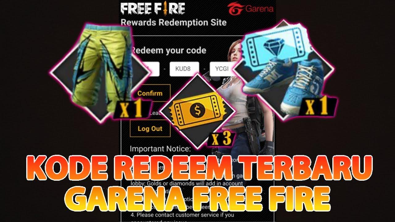 Redeem Code Terbaru September Garena Free Fire