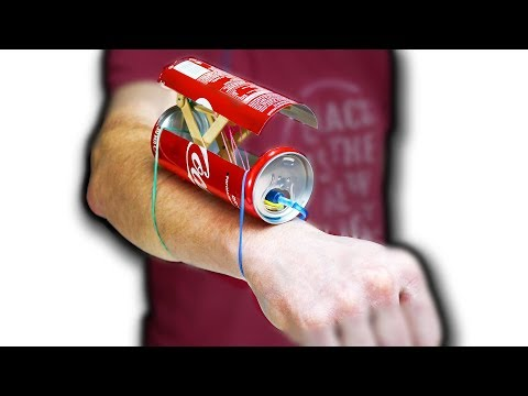 How To Build Toy For Spy Kids.Spy Gun From Coca Cola