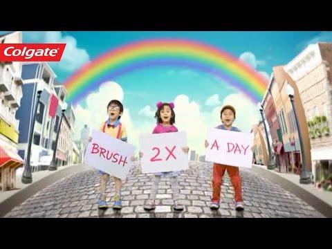 Colgate - Brush Brush Brush Song (English)