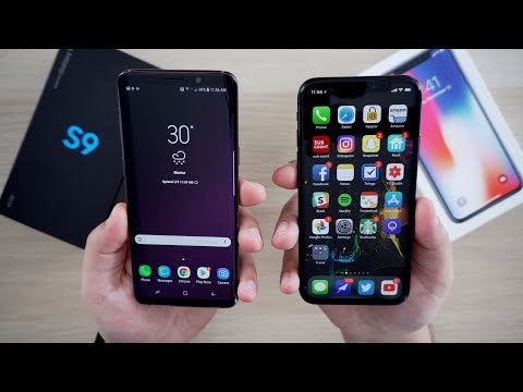 Samsung Galaxy S9 vs iPhone X (First Impressions)