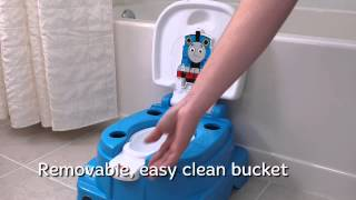 Smyths Toys - Fisher Price Thomas And Friends Railroad Reward Potty