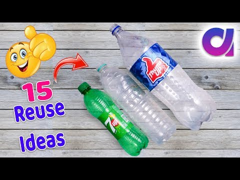 15 most amazing way to reuse plastic bottle | Best out of waste | Artkala 519