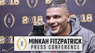 Minkah Fitzpatrick sets the record straight about his injury at Alabama Media Day